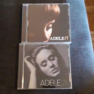 Adele CDs (19 &21)